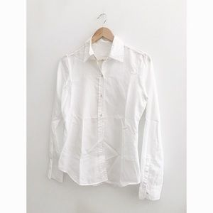 FINAL FLASH- Nili Lotan Fulton Cotton Shirt
